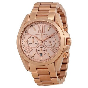 Michael Kors Michael Kors Bradshaw Chronograph Rose Gold-tone Watch