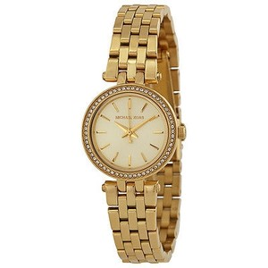 Michael Kors Michael Kors Mini Darci Champagne Dial Gold-tone Ladies Watch
