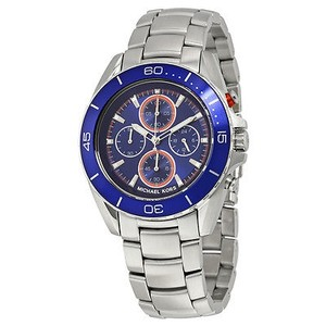 Michael Kors Michael Kors Jetmaster Blue Dial Chronograph Mens Watch