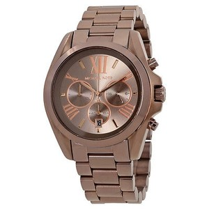 Michael Kors Michael Kors Oversized Bradshaw Sable Chronograph Unisex Watch