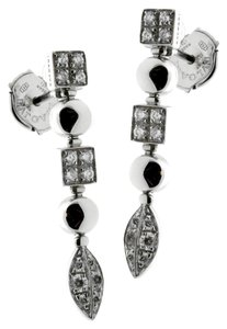 BVLGARI Bulgari Lucea Diamond White Gold Earrings