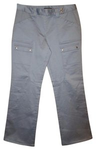 Elie Tahari Cargo Pants Ice Blue