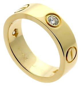 Cartier Cartier Love Diamond Yellow Gold Ring