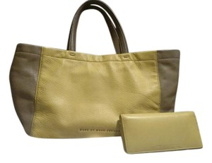 Marc by Marc Jacobs Mini Lily Flower Multi Womens Tote in Yellow and Tan