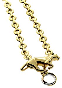 Cartier Cartier Panthere Trinity Gold Necklace