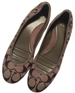Coach Slip On brown Flats