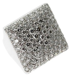 Cartier Cartier Pave Diamond White Gold Ring