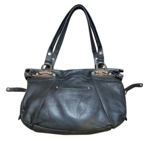 B. Makowsky B Genuine Leather Shoulder Bag