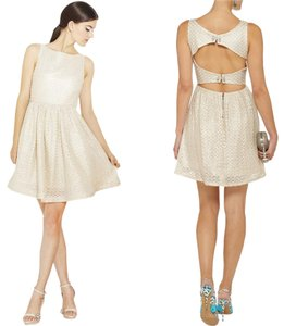 Alice + Olivia Lace Date Night Party Sparkle Dress