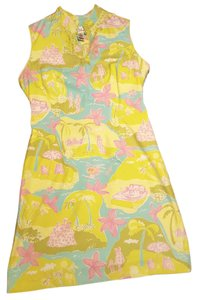 Lilly Pulitzer short dress MULTI - Pink, Green, Blue, White, Yellow Summer Preppy on Tradesy
