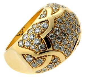 Chanel Chanel Camellia Diamond Gold Ring