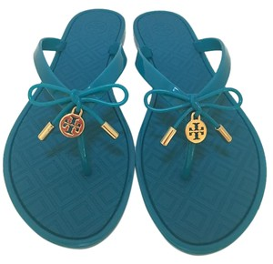 Tory Burch Ocean Turquoise Sandals