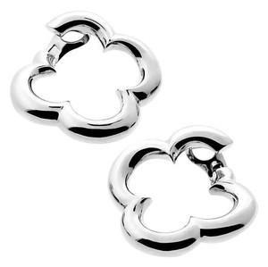 Van Cleef & Arpels Van Cleef & Arpels Alhambra White Gold Earrings