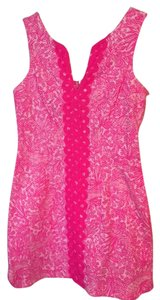 Lilly Pulitzer short dress Pink See Ya Later on Tradesy