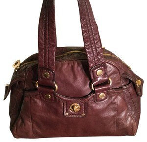 Marc Jacobs Satchel in Brown & Gold