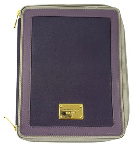 Michael Kors Michael Kors Ipad Book Saffiano Leather Zip Case with Organizer