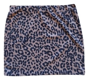ASOS Nwot Mini Skirt Leopard