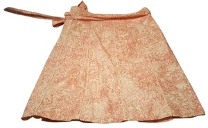 Lilly Pulitzer Pink Wrap Preppy Bow Skirt Pink, White