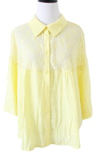 Free People Top Yellow