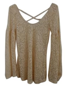 Urban Outfitters short dress Cream Boho Lace on Tradesy