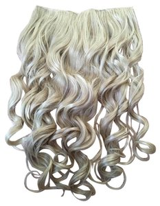 Hey Lady Blonde hair wavy 1pc clip extension 140g thick 1 piece quality 20