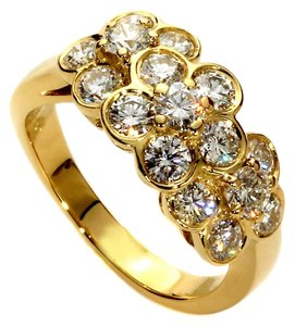 Van Cleef & Arpels Van Cleef and Arpels Fleurette Diamond Gold Ring