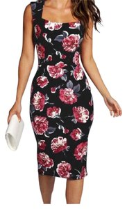 Other Fit Flare Pink Floral Dress