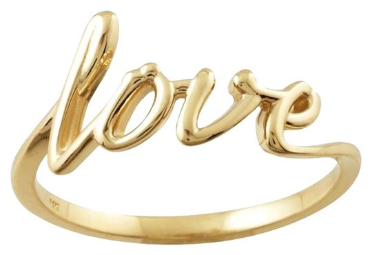 "Other 14K Yellow Gold ""Love"" Ring"