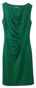 MILLY Sleeveless Wool Blend Dress