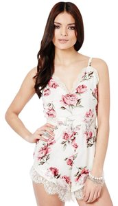 Missguided Floral Summer Date Night Dress