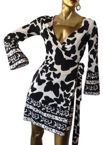 Diane von Furstenberg Dvf Silk Wrap V-neck Dress