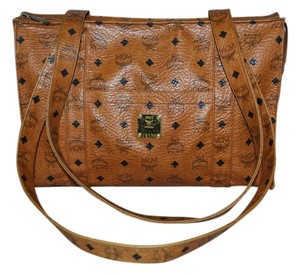 MCM Lightweight Shopper Tote in Brown