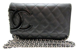 Chanel Wallet Wallet On A Chain Cambon Woc Lambskin Woc Wallet Cross Body Bag