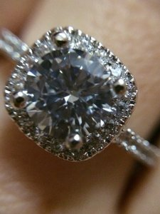 9.2.5 All Sizes In Stock Diamond Cz Silver 925 2ct Engagement Ring