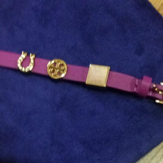Tory Burch Authentic NWT Lucia Initial Charm Bracelet