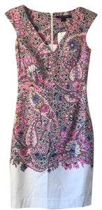 French Connection short dress Pink multi on Tradesy