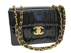 Chanel Patent Flap Shoulder Bag