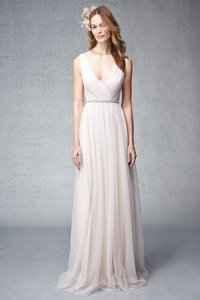 Monique Lhuillier Blush Lavender 450275 Dress