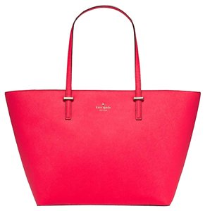 Kate Spade Large Cedar Street Tote in Watermelon