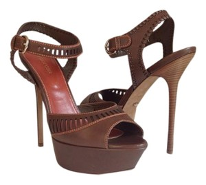 Sergio Rossi Nwt Sexy Comfy Chocolate brown Platforms