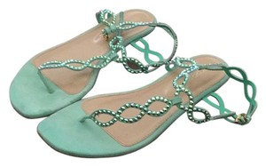 Sergio Rossi Blue Sandals