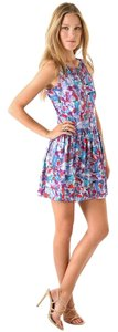 Theory short dress Multi/Print Summer Abstract Pockets Contemporary Fit And Flare on Tradesy