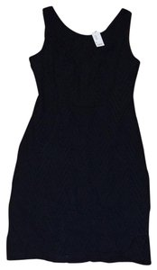 The Limited short dress black Eyelet on Tradesy