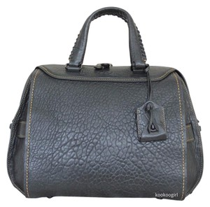 Coach Leather Glovetanned Ace 28 38223 Satchel in Black
