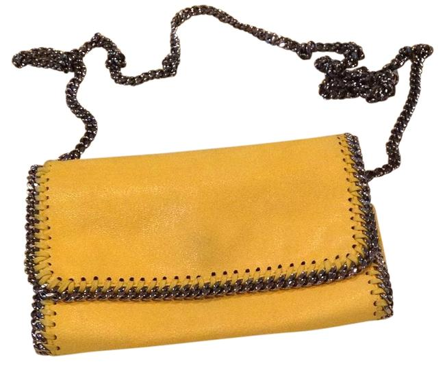 Item - Falabella Chain Yellow Faux Leather Cross Body Bag