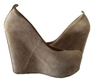 ALDO Beige Wedges