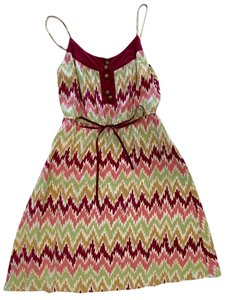 Beth Bowley short dress Multi/Print Summer Slipdress Silk Pattern Boho on Tradesy