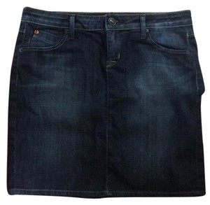 Hudson Jeans Skirt Denim slightly distressed pockets