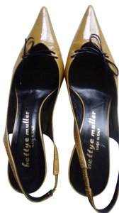 Bettye Muller Mustard Pumps