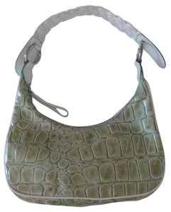TOSCA BLU Moc Croc Leather Made In Hobo Bag